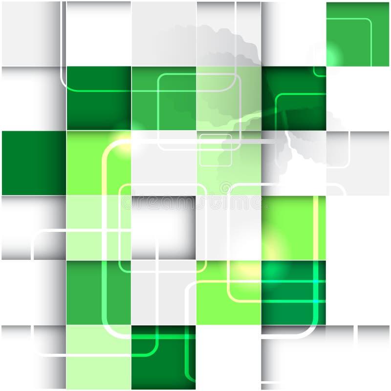 Conception abstraite d'écologie illustration de vecteur
