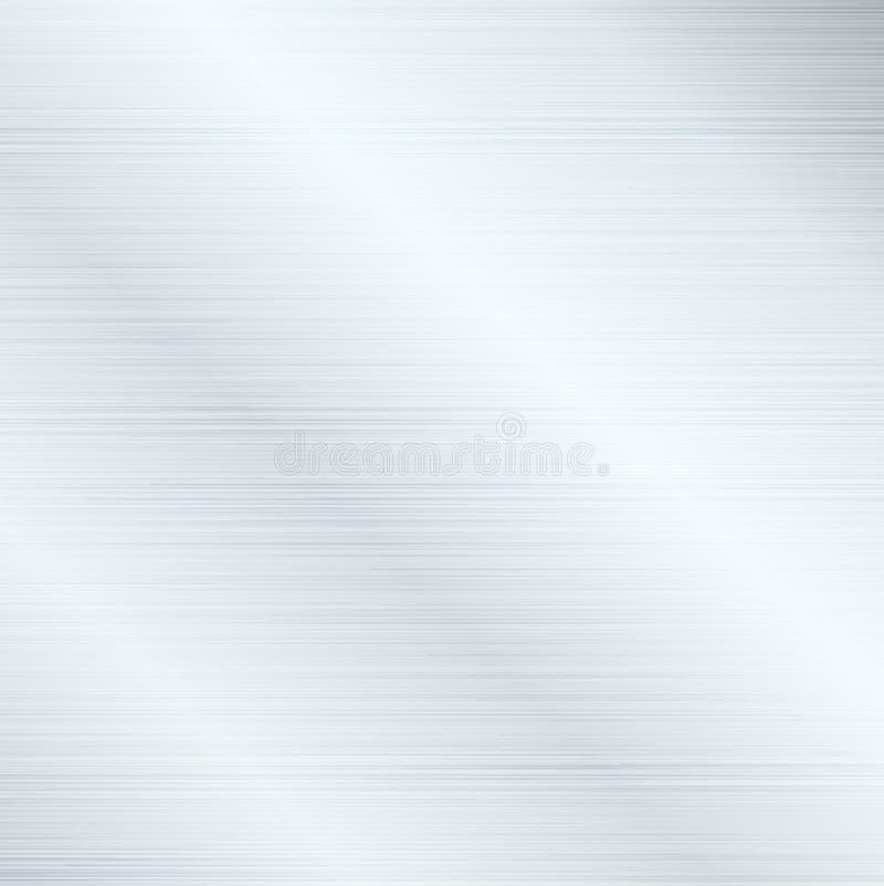 Conception abstraite de fond moderne avec la texture balayée en métal illustration de vecteur