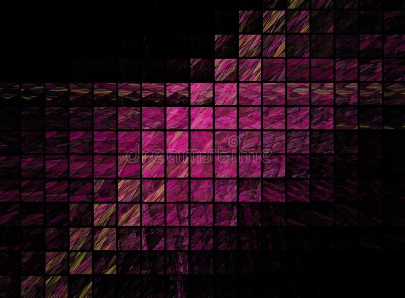 Conception abstraite de fractale illustration de vecteur