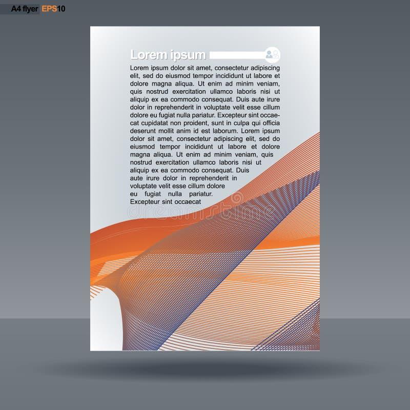 Conception abstraite de l'impression A4 avec les discriminations raciales pour les insectes, bannières ou affiches, avec l'icône  illustration libre de droits