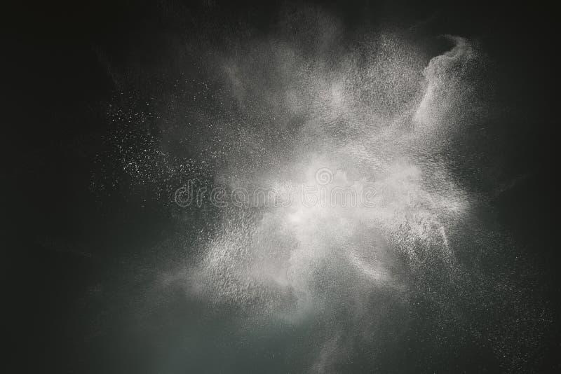 Conception abstraite de nuage de poussière image libre de droits