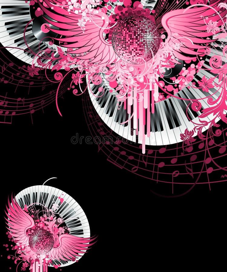 Conception abstraite de réception. illustration stock