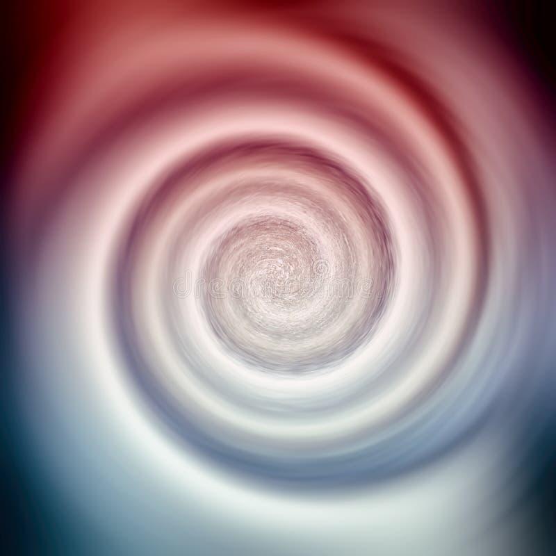 Conception abstraite de rotation de spirale de remous illustration de vecteur