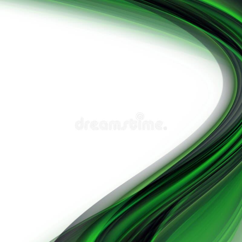 Conception abstraite de vague d'eco image stock