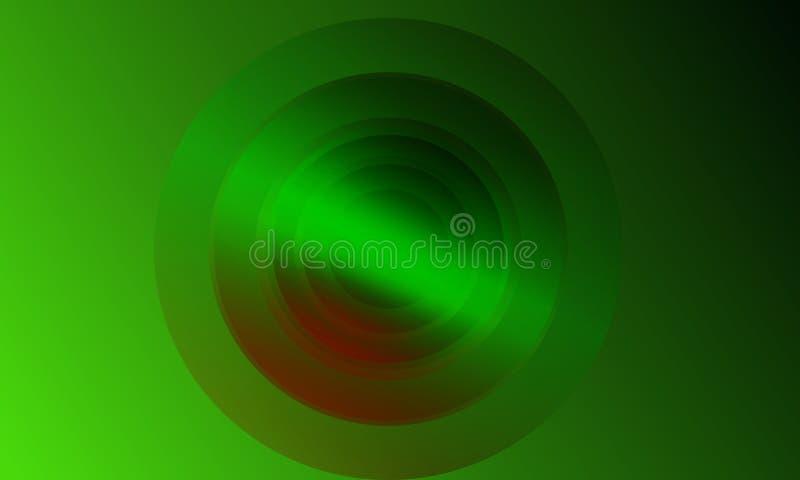 Conception abstraite du calibre 3d de fond illustration de vecteur
