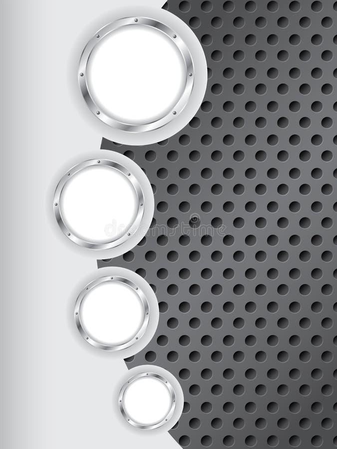 Conception abstraite industrielle de fond illustration de vecteur