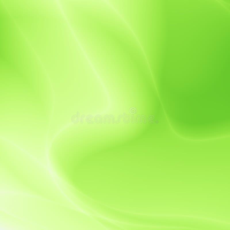 Conception abstraite simple verte de modèle de site Web illustration de vecteur