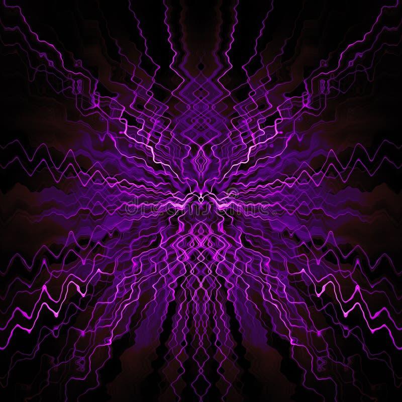 Conception abstraite symétrique illustration libre de droits