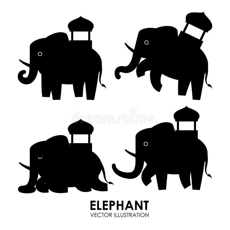 Conception animale illustration de vecteur