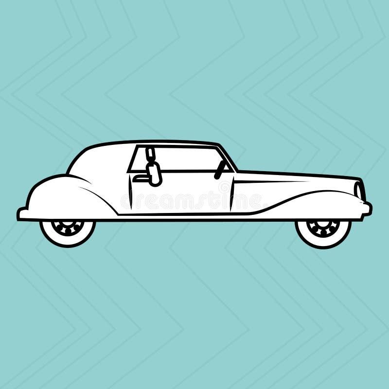 Conception automatique de service illustration stock