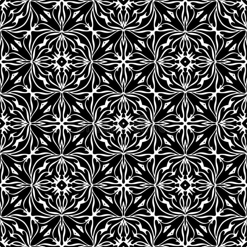 CONCEPTION BLANCHE NOIRE de MODÈLE de vecteur illustration de vecteur