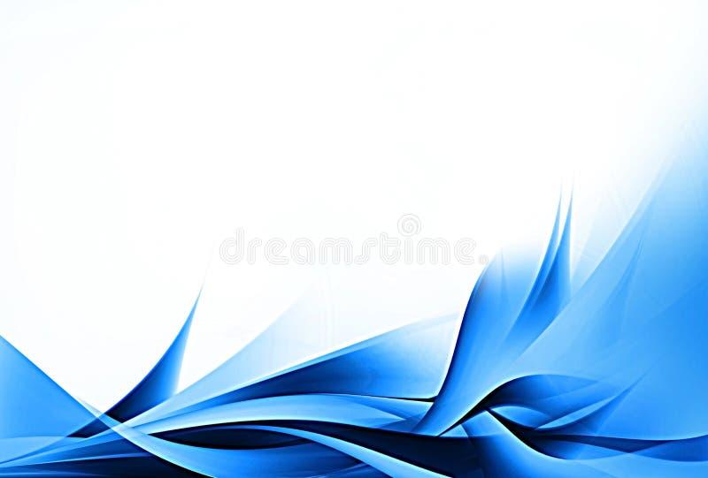 Conception bleue abstraite illustration stock