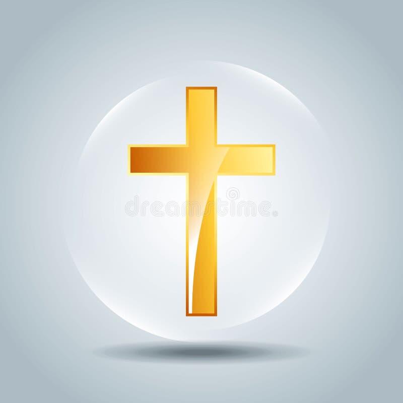 conception catholique d'icône illustration de vecteur