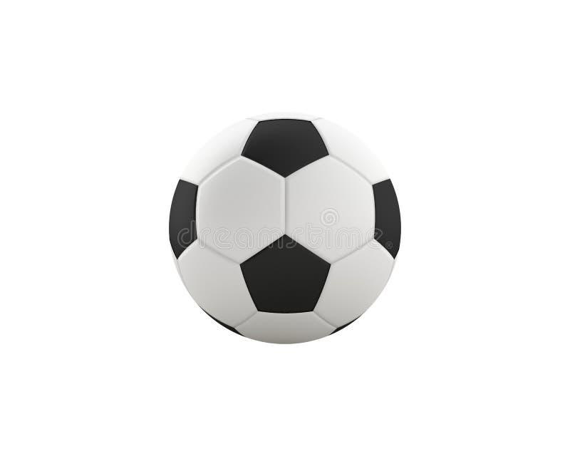 conception classique du football du rendu 3D photographie stock libre de droits