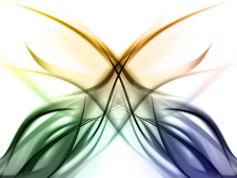 Conception colorée élégante d'arc-en-ciel illustration de vecteur