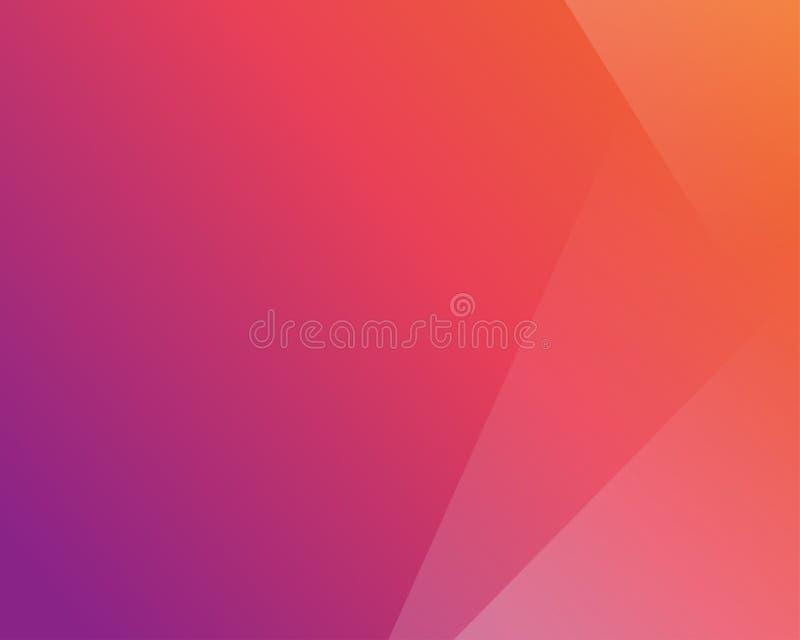 Conception colorée abstraite de décoration de fond illustration stock