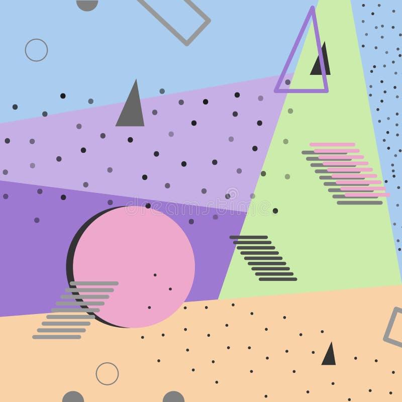 Conception colorée abstraite de fond pour des cartes, brochures, bannière photographie stock libre de droits
