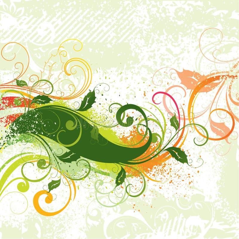 conception colorée rétro illustration stock
