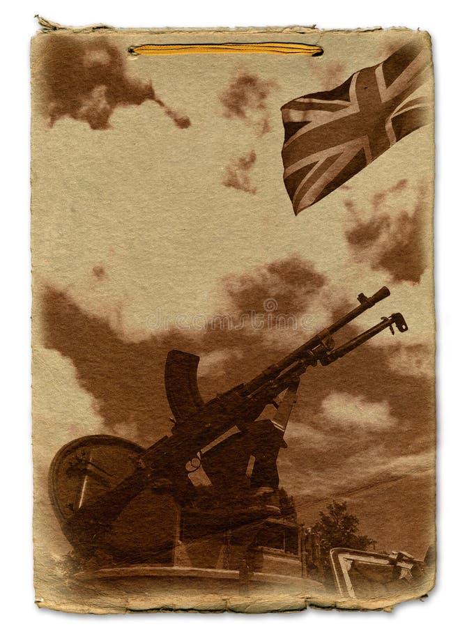Conception commémorative militaire illustration stock