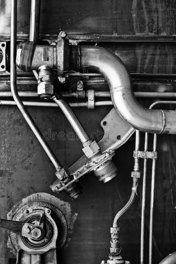 Conception complexe de métal photo libre de droits