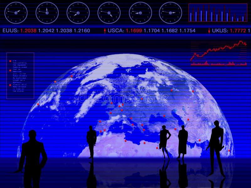 Conception conceptuelle d'affaires illustration libre de droits
