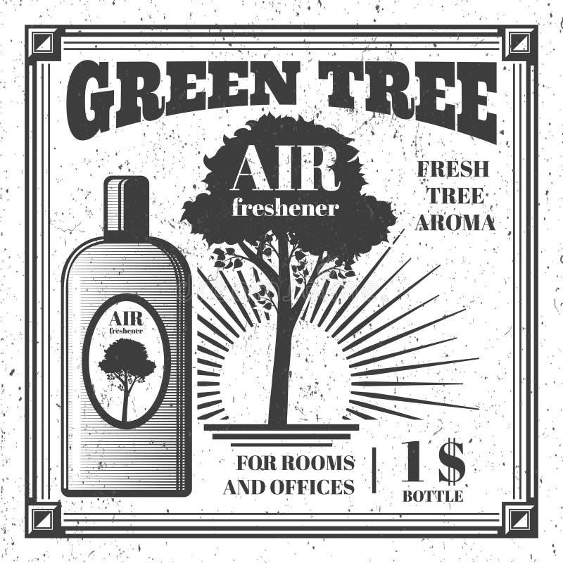 Conception d'affiche de parfum d'ambiance illustration libre de droits