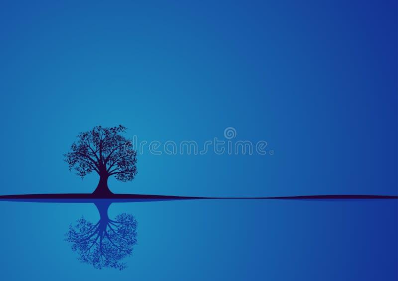 Conception d'arbre de vecteur illustration de vecteur