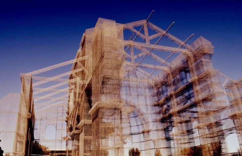 Conception d'architecture dans les sud de l'Italie image libre de droits
