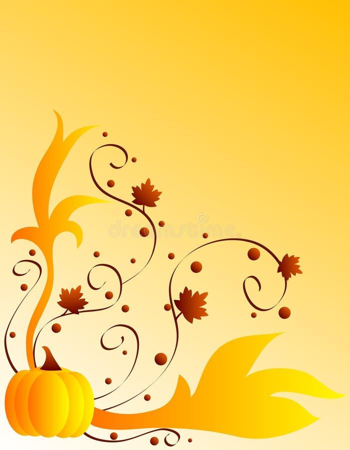 Conception d'automne illustration stock