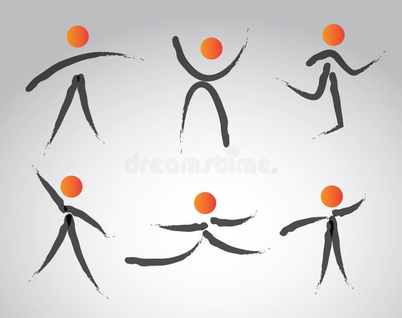 Conception d'exercices illustration libre de droits