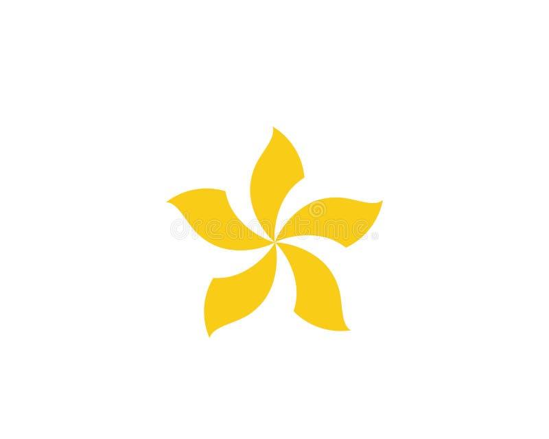 conception d'icône de vecteur de fleur illustration de vecteur