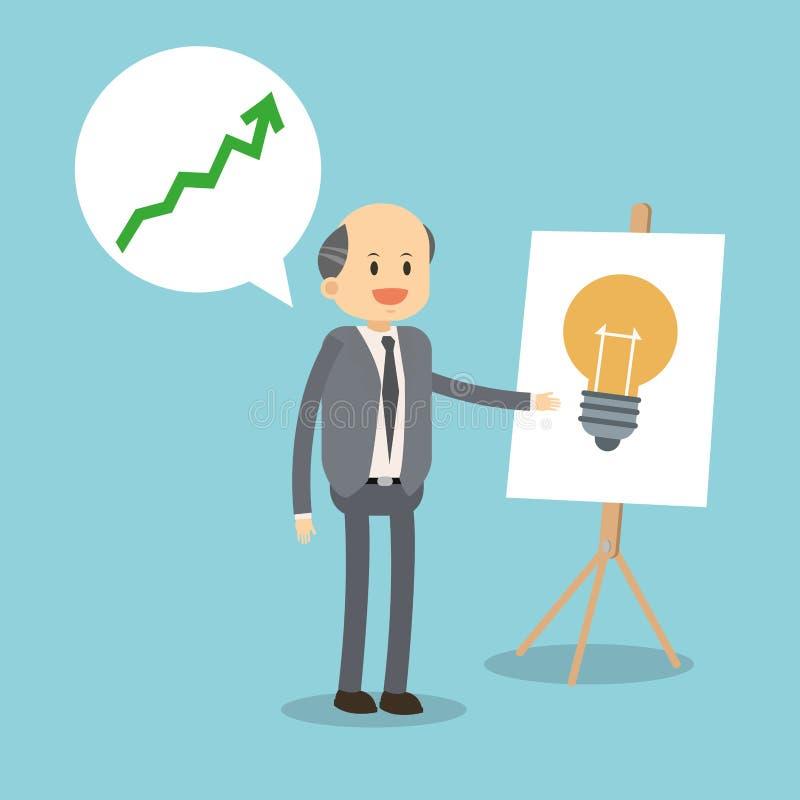 Conception d'icônes d'affaires illustration de vecteur