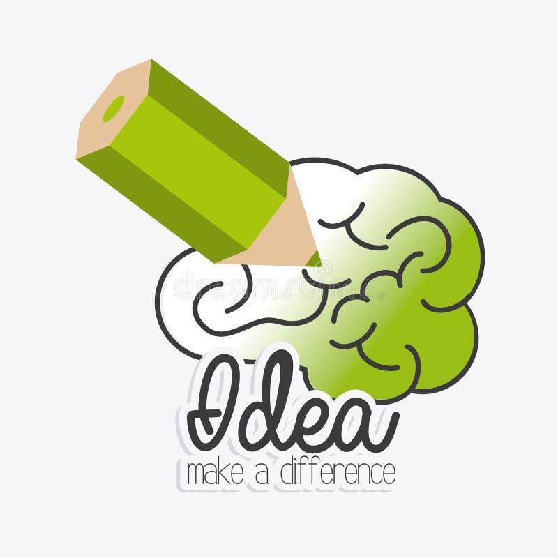 Conception d'idée illustration de vecteur
