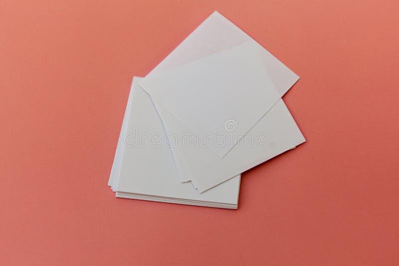 Conception d'identité, calibres d'entreprise, style de société, ensemble de livrets, insecte de papier se pliant blanc vide photographie stock