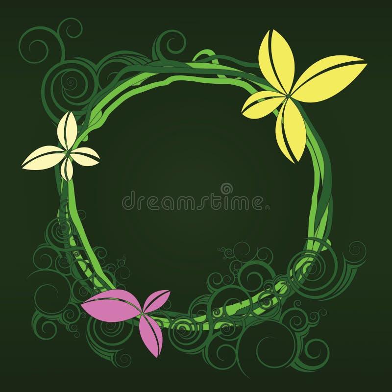 Conception d'illustration de fleur illustration stock
