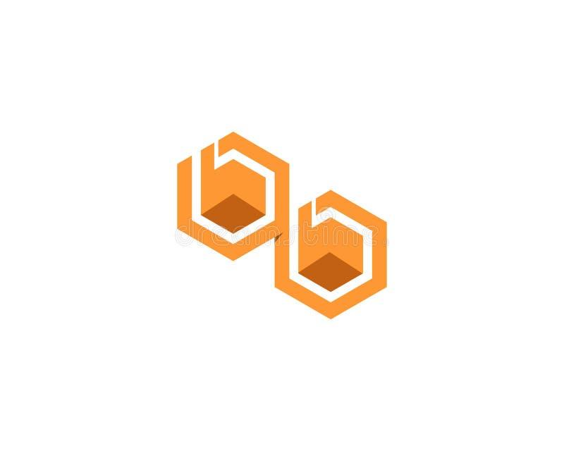 Conception d'illustration d'ic?ne de vecteur de Logo Template d'abeille illustration stock