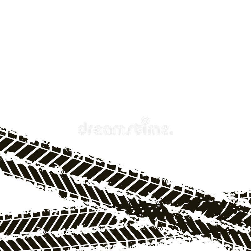 Conception d'impression de roue illustration libre de droits