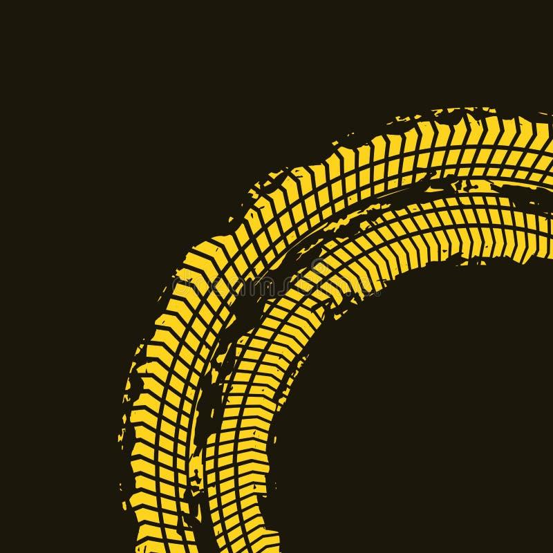 Conception d'impression de roue illustration de vecteur