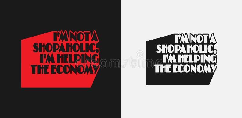 Conception d'impression de T-shirt Illustration de vecteur Slogan de conception illustration libre de droits
