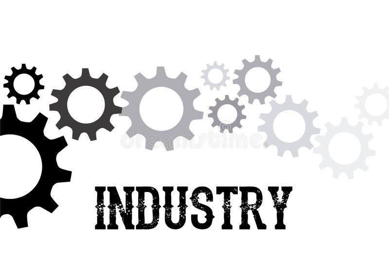 Conception d'industrie illustration libre de droits