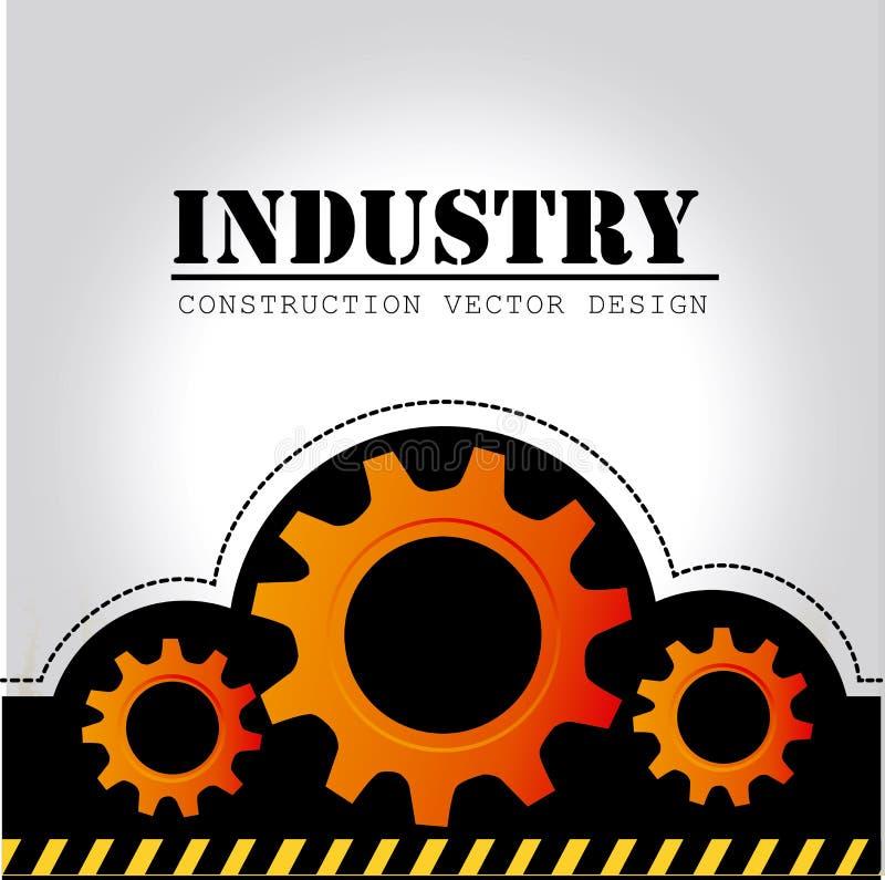 Conception d'industrie illustration de vecteur