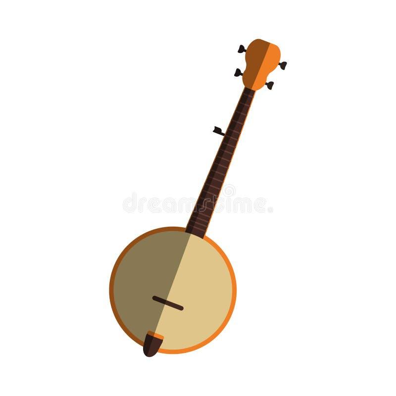 Conception d'instrument de musique illustration stock