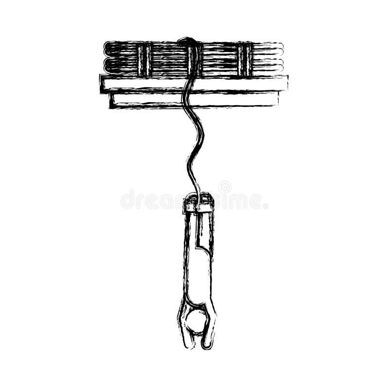 Conception d'isolement de pictogramme illustration de vecteur