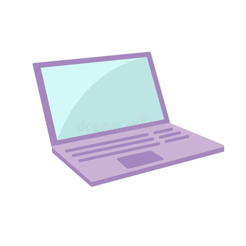 Conception d'ordinateur portable Vecteur illustration stock