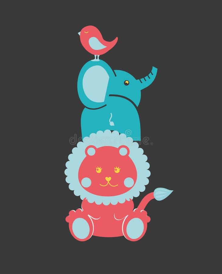 Conception de bébé illustration de vecteur