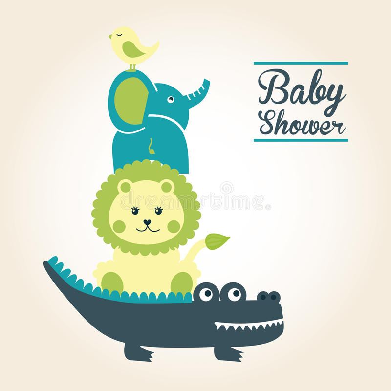 Conception de bébé illustration stock