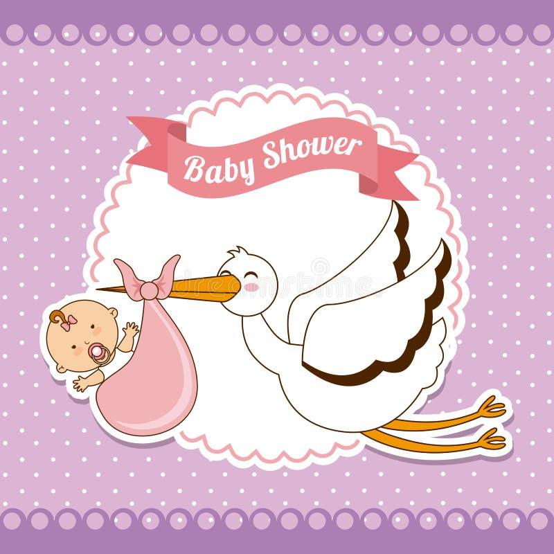 Conception de bébé illustration libre de droits