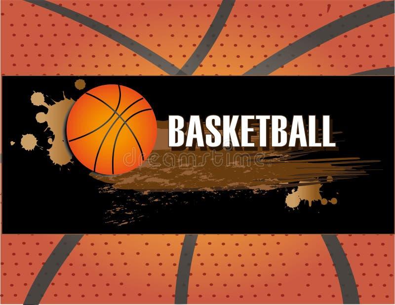 Conception de basket-ball illustration libre de droits