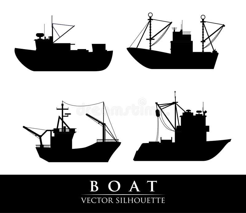 Conception de bateau illustration libre de droits