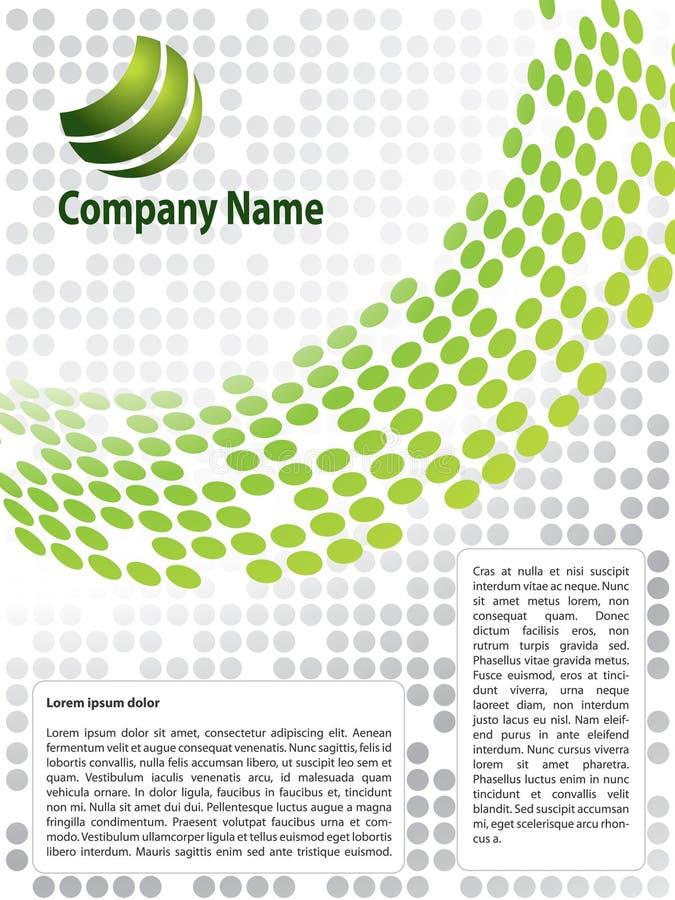 Conception de brochure illustration stock